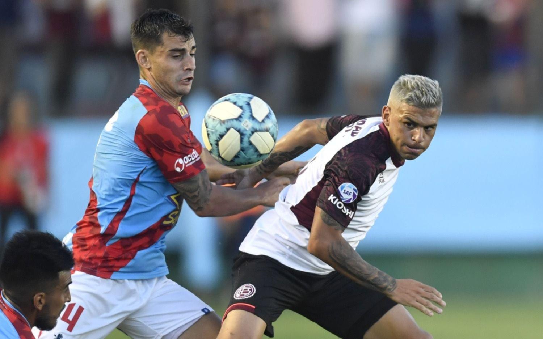 Arsenal y Lanús igualaron en Sarandí