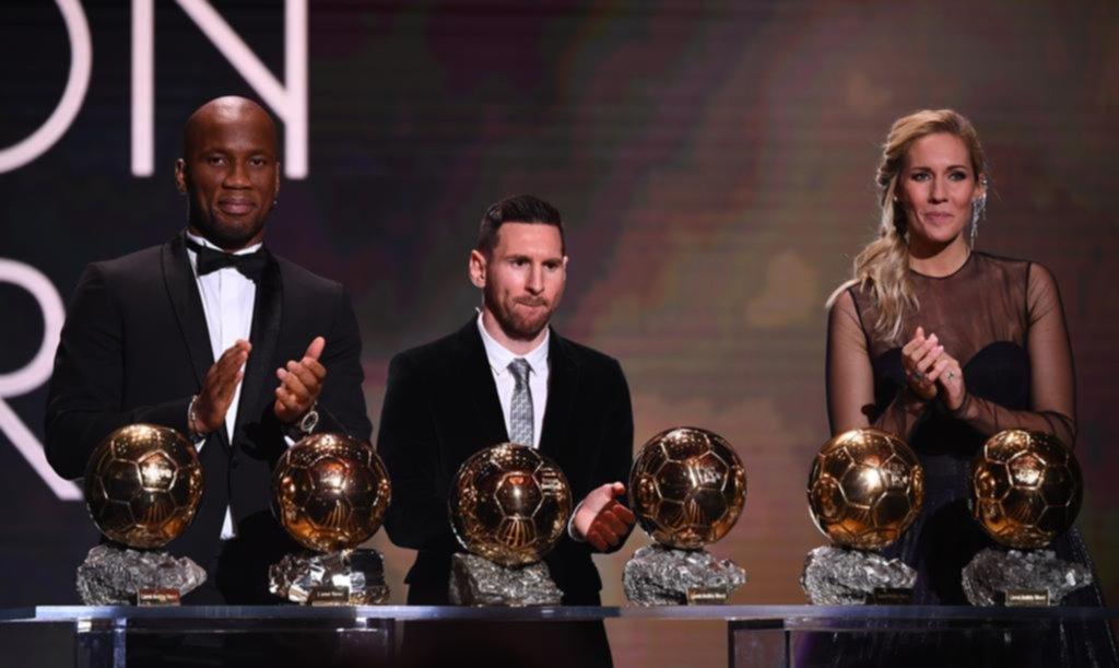 Messi y un nuevo Balón de Oro para su colección personal