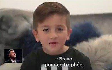 El video familiar que emocionó a Messi tras alcanzar su sexto Balón de Oro