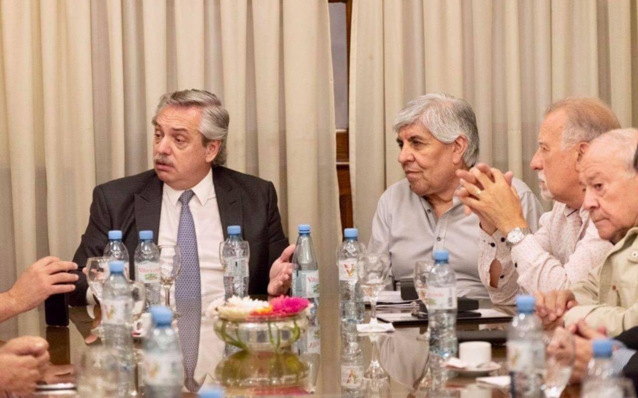 Fernández almorzó con Moyano y dijo que podrían darse reformas laborales por sectores