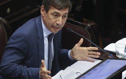 Naidenoff ejercerá como jefe del interbloque de senadores de Cambiemos