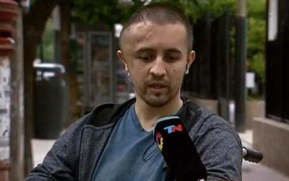 Le dieron el alta al agente de tránsito atropellado por el periodista Eugenio Veppo