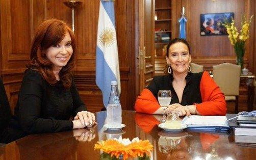 Michetti y Cristina acordaron respetar el protocolo para la jura presidencial