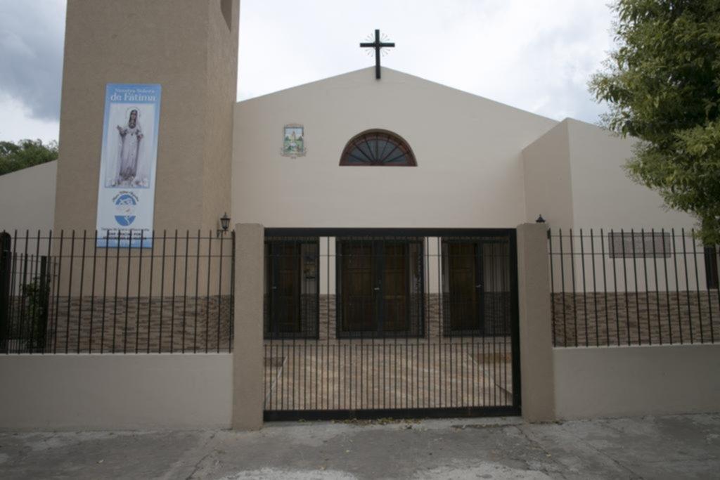 Precavido, un cura párroco puso una alarma que detectó ladrones en la iglesia
