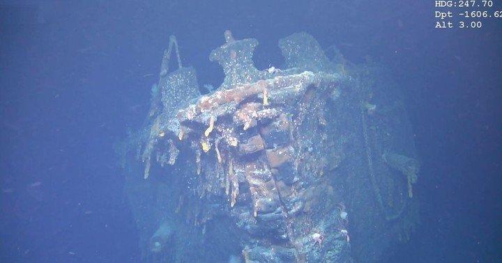 Encuentran restos de un barco alemán hundido en 1914 frente a las Islas Malvinas