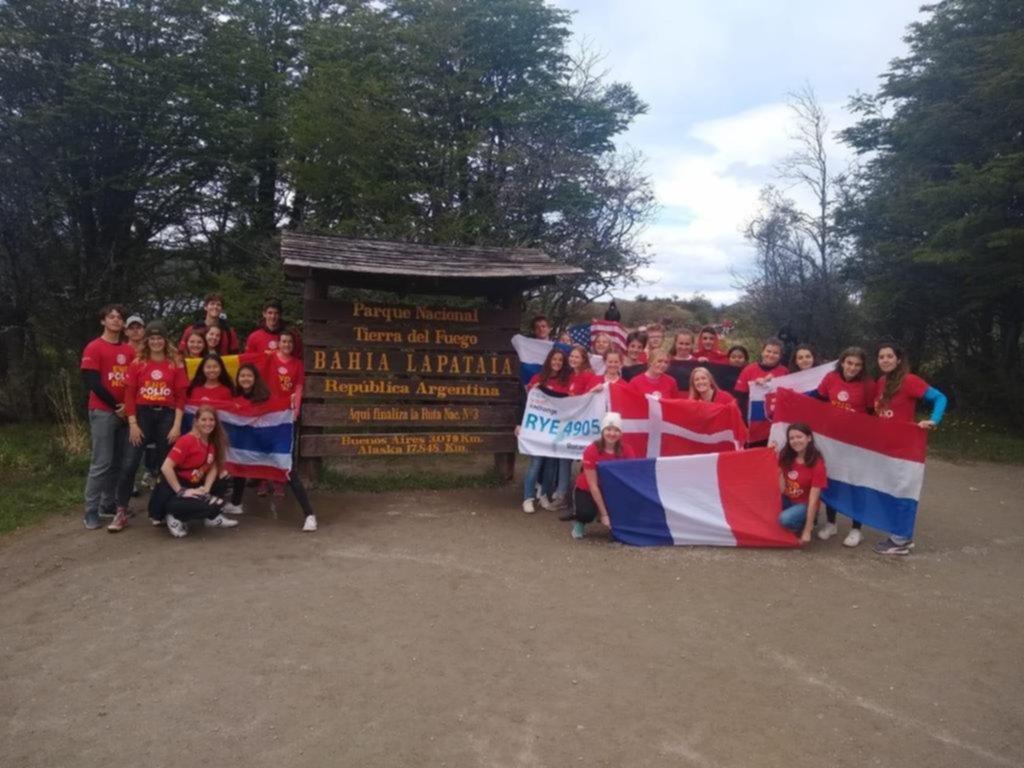 Estudiantes de intercambio, de Gonnet a la ciudad más austral de la Argentina