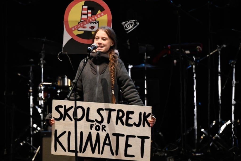 Una multitud exigió acciones para parar el cambio climático