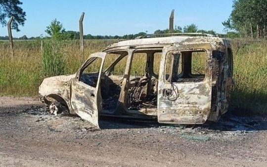 Apareció un cuerpo quemado y creen que es una víctima de un secuestro