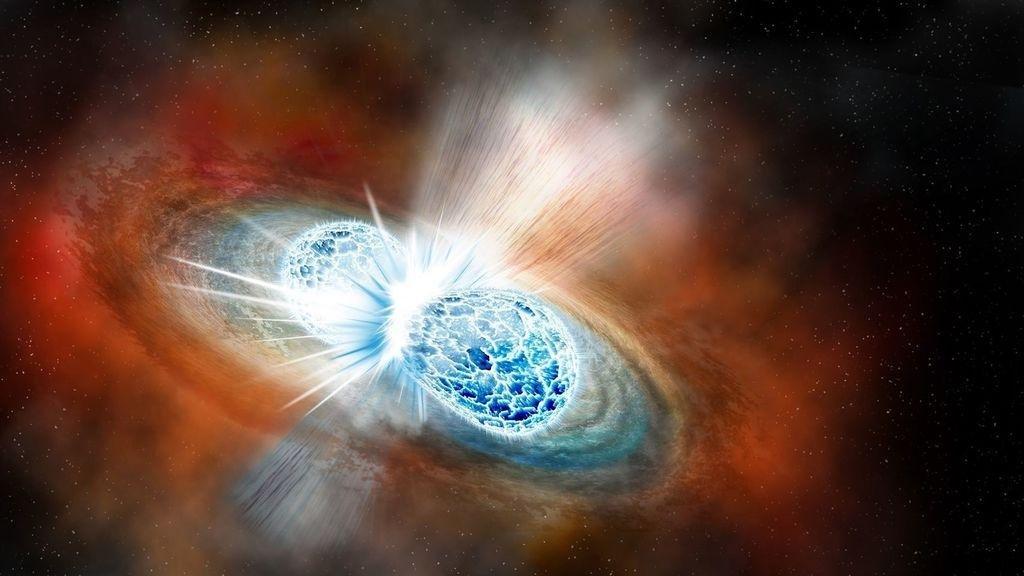 Detectan la forma más energética de luz en una explosión cósmica