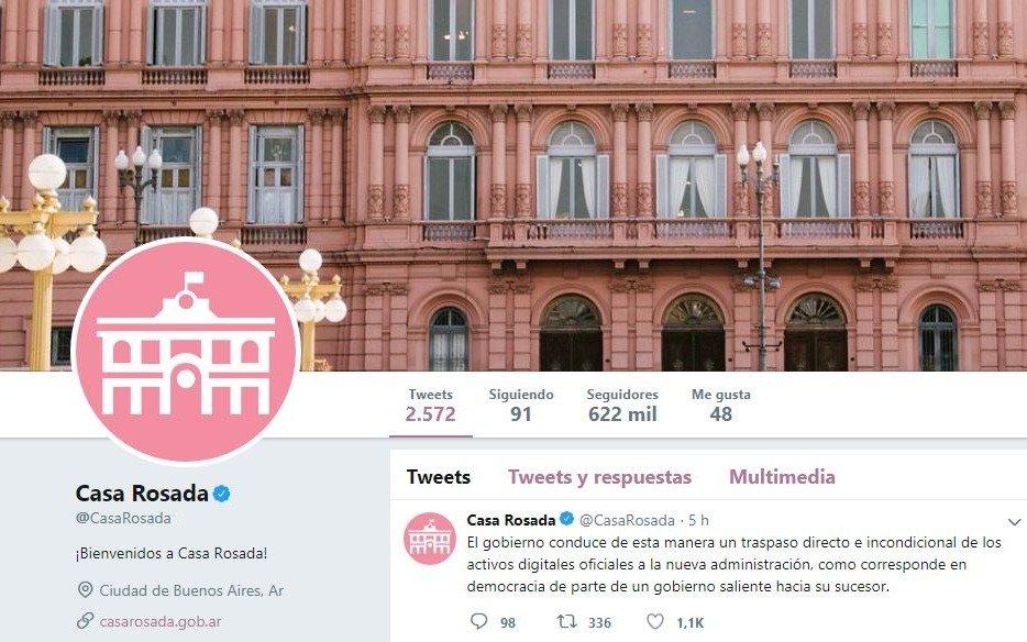 ¿Cómo será el traspaso de la titularidad de las redes sociales oficiales al nuevo gobierno?