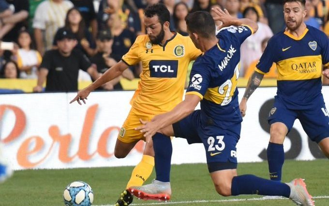 Boca cayó ante Rosario Central en el Gigante de Arroyito