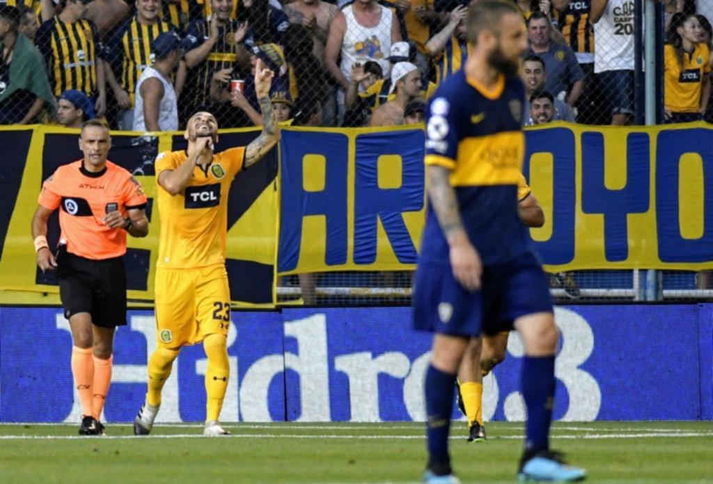 Boca cerró el año en Rosario con otra muy floja actuación