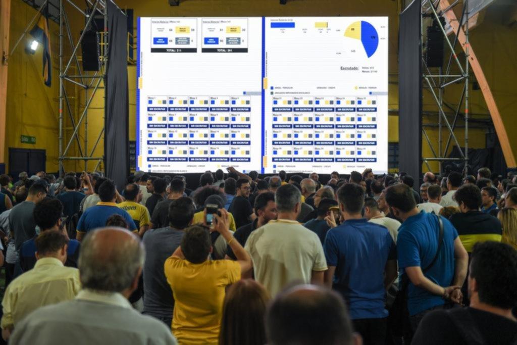 Jorge Ameal, de la  mano de Riquelme, será el presidente de Boca en los próximos 4 años