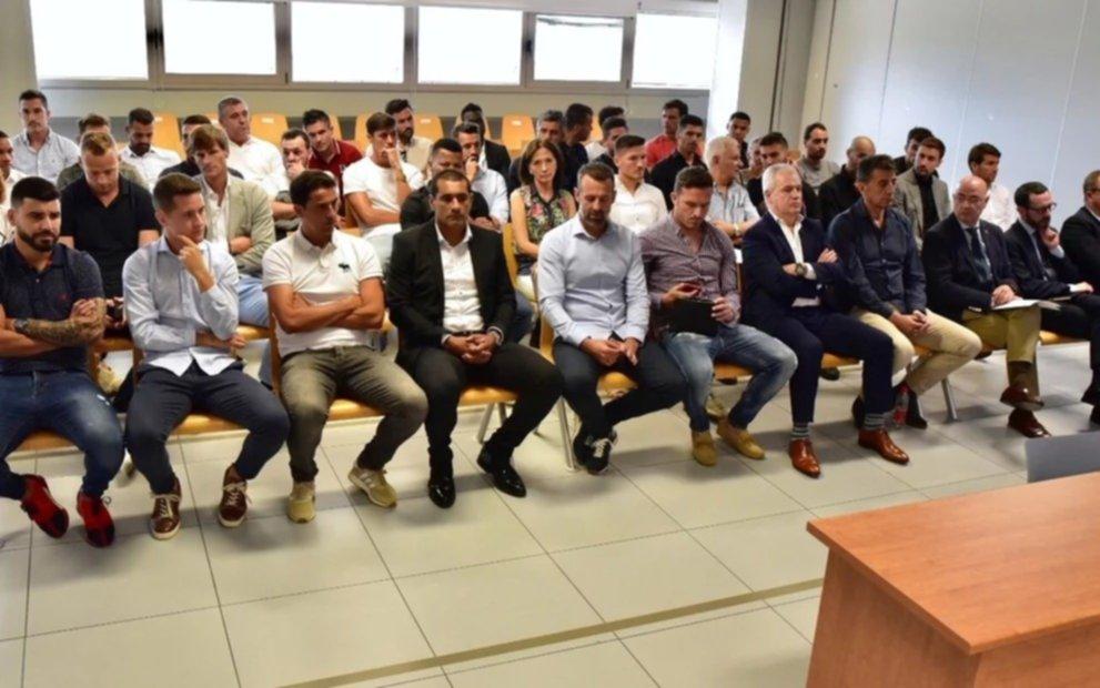Punto final para el caso de los futbolistas  argentinos involucrados en el arreglo de un partido
