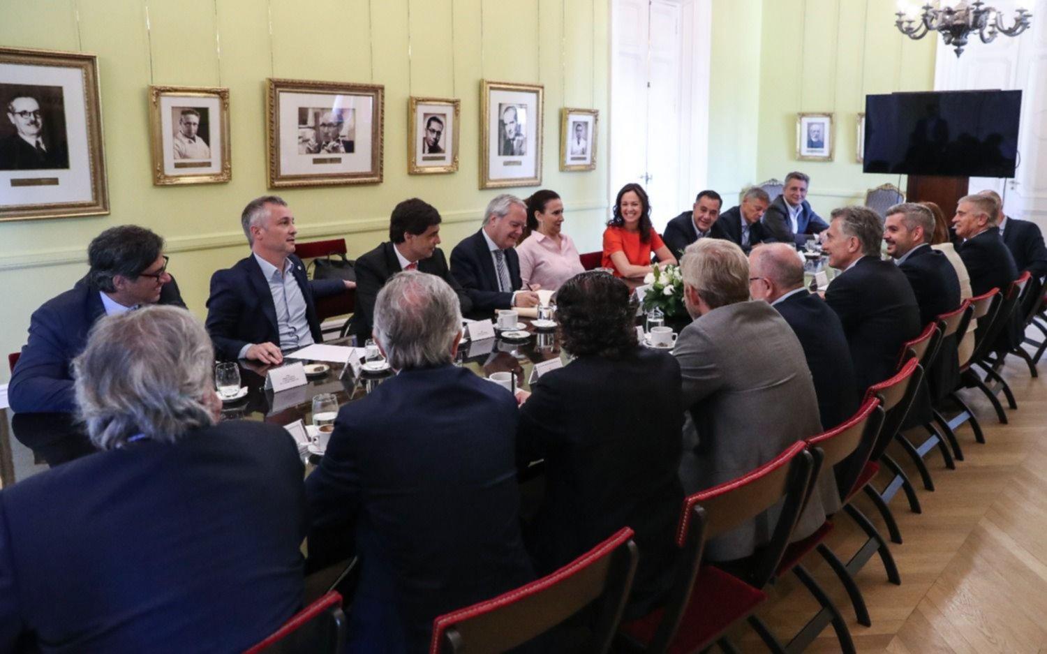 Macri encabezó la última reunión de Gabinete