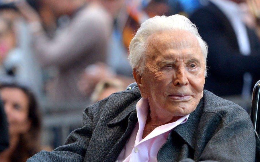 Leyenda en Hollywood: Kirk Douglas cumple hoy 103 años