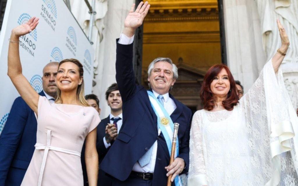 """Alberto Fernández: """"Los vengo a convocar sin distinciones a poner la Argentina de pie"""""""