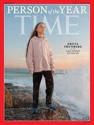 """La joven activista Greta Thunberg es la """"Persona del Año"""" de la revista Time"""