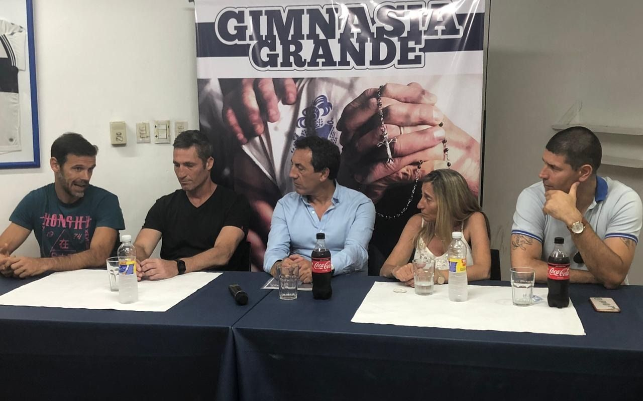 Con Sosa, Morant e Yllana, Gimnasia Grande presentó su proyecto de fútbol