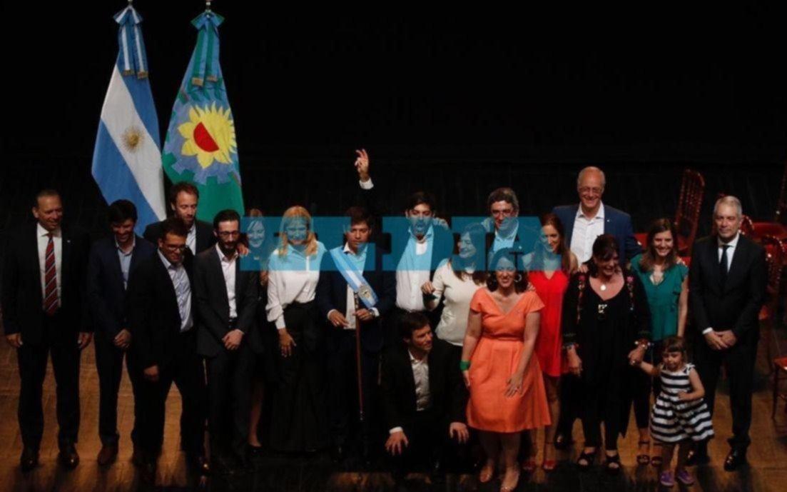 """""""Quiero un gabinete militante"""", dijo Kicillof al tomarle juramento a sus ministros"""