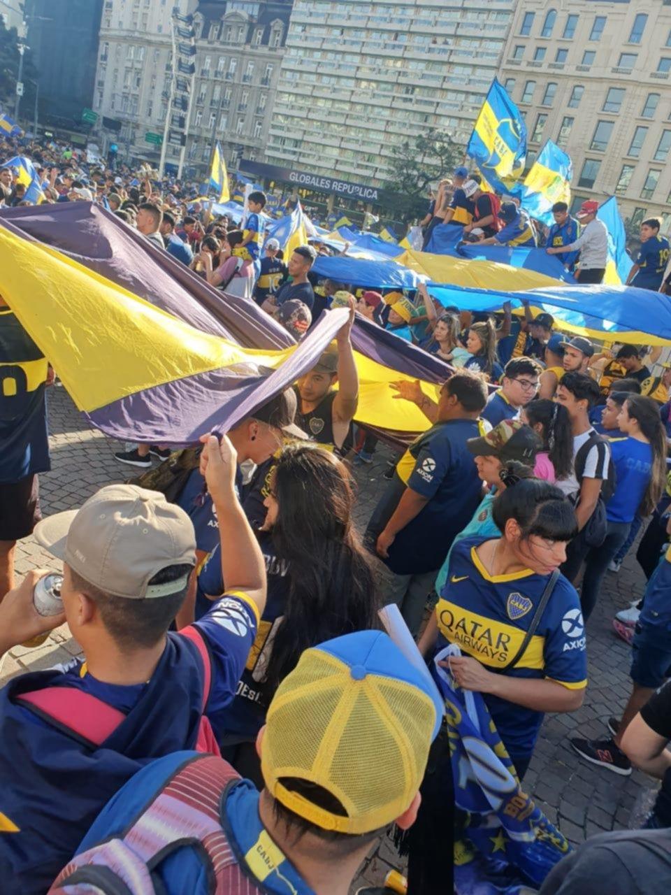 El Día del Hincha de Boca, entre festejos e incidentes