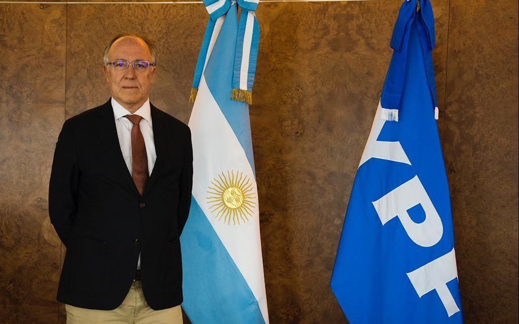 Guillermo Nielsen asumió la Presidencia de YPF