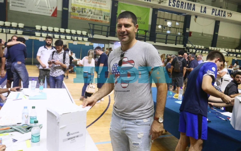 Votaron socios albiazules destacados