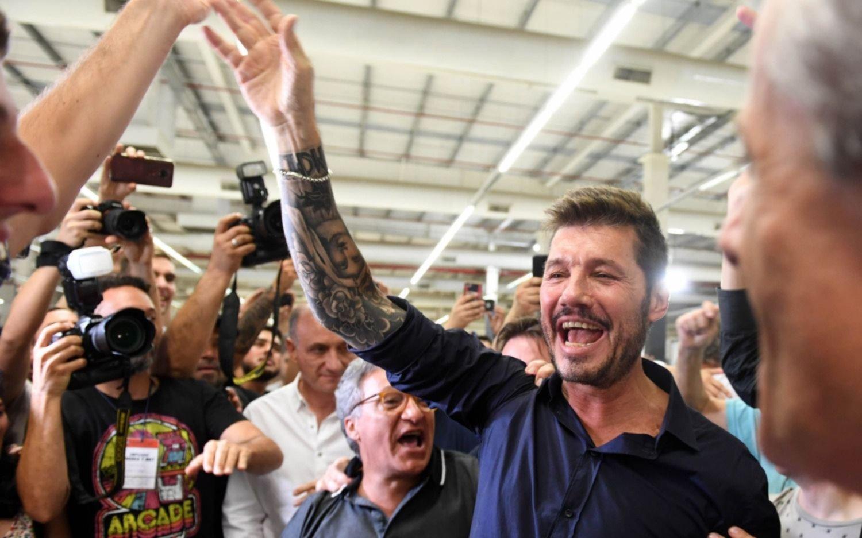 Tinelli arrasó en las elecciones y es el nuevo presidente de San Lorenzo
