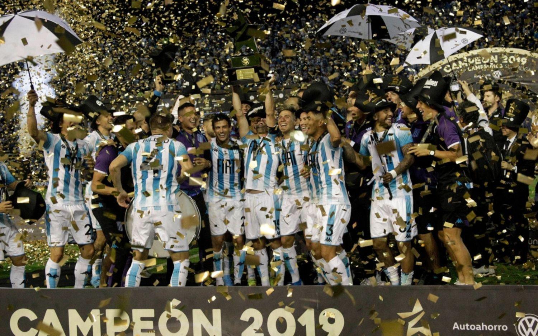 Racing venció a Tigre en la final de la Copa de Campeones en Mar del Plata