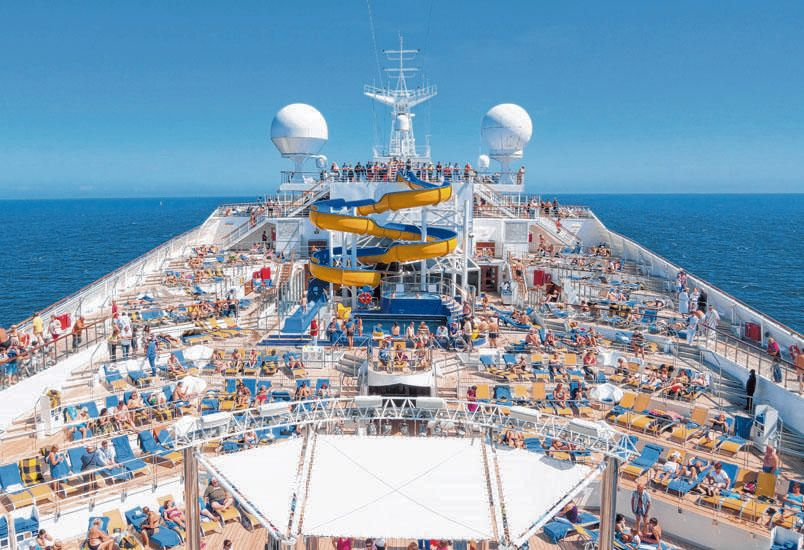 Gigantes de alta mar: los cruceros se reinventan