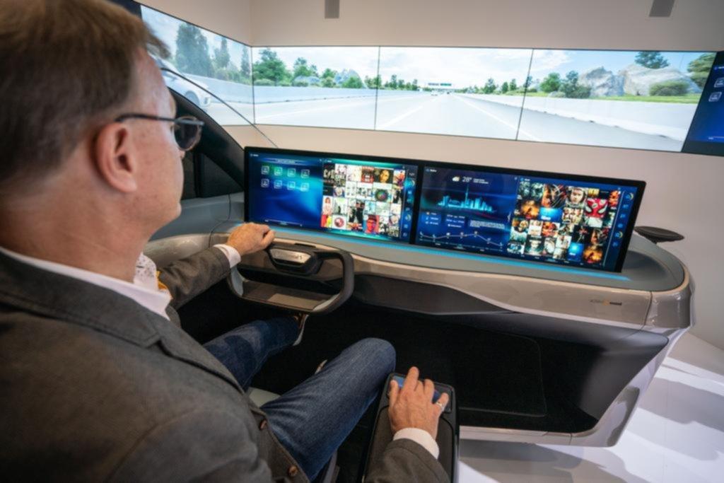 Como si fuera el auto de Volver al futuro