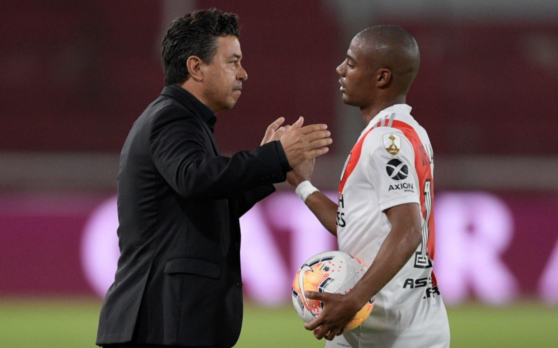 Libertadores: River le ganó a Paranaense y se metió en cuartos de final