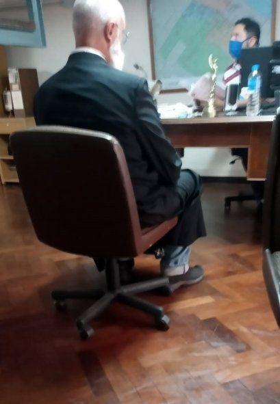 Ya detenido, el cura Sidders se desligó de las acusaciones