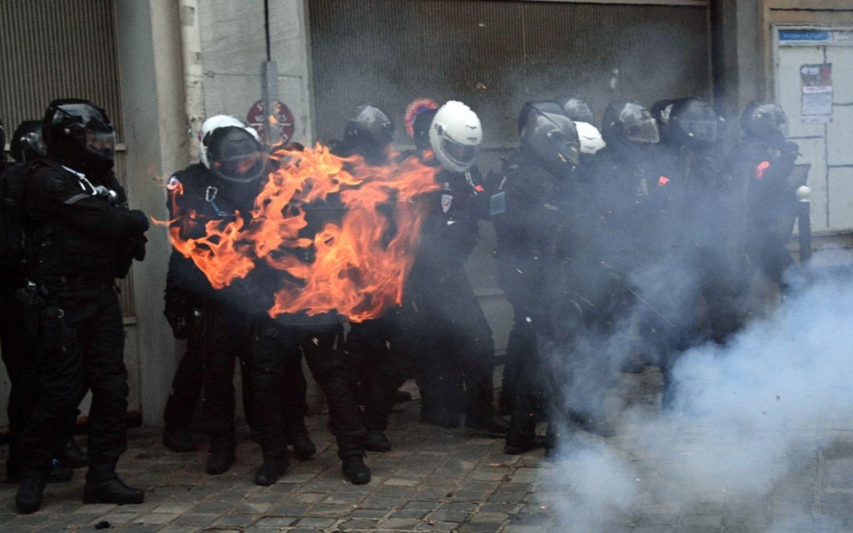 Otra protestaen Francia contra la nueva Ley de Seguridad y la violencia policial