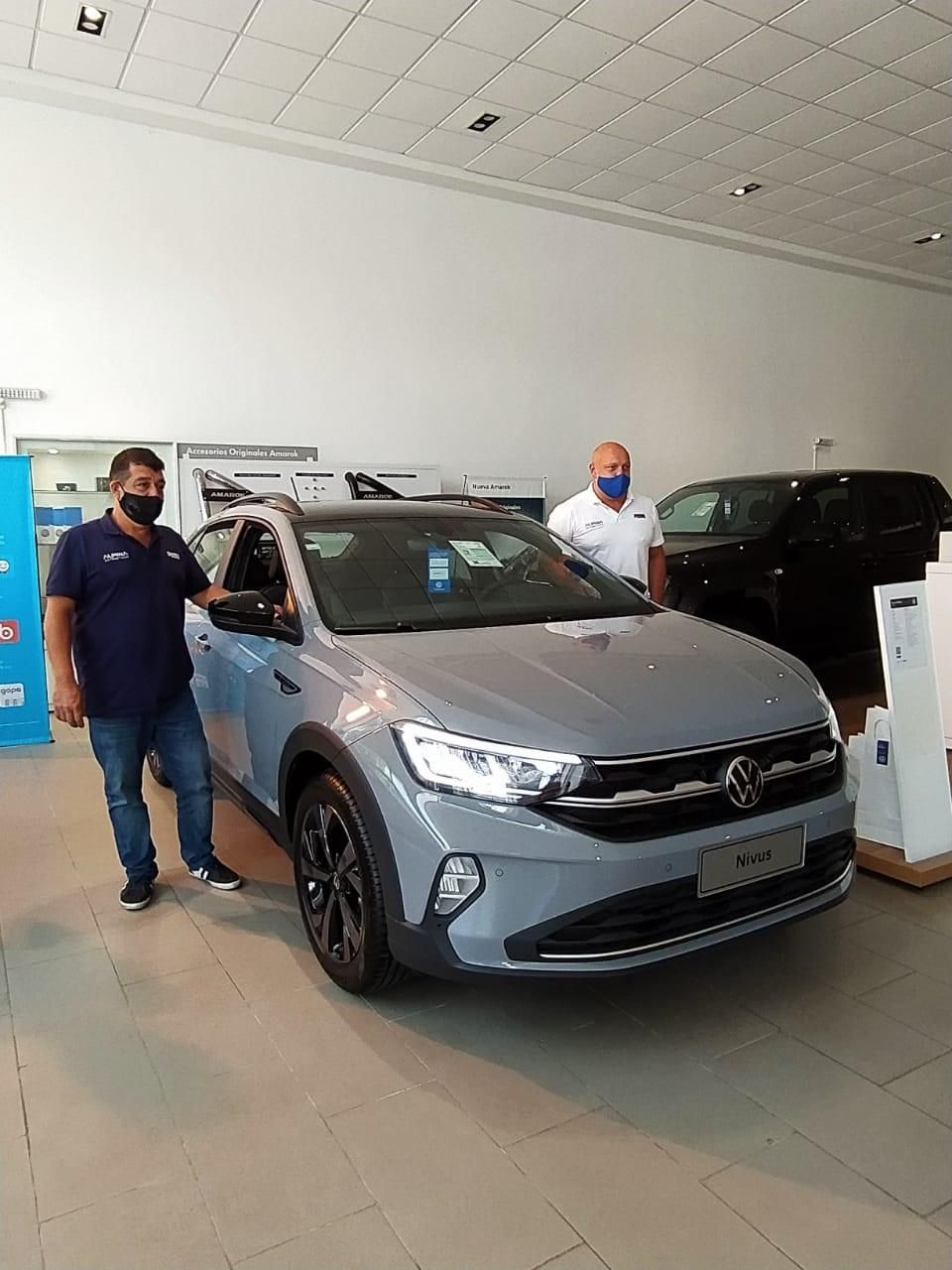Presentaron en nuestra ciudad el nuevo Nivus, el crossover de Volkswagen