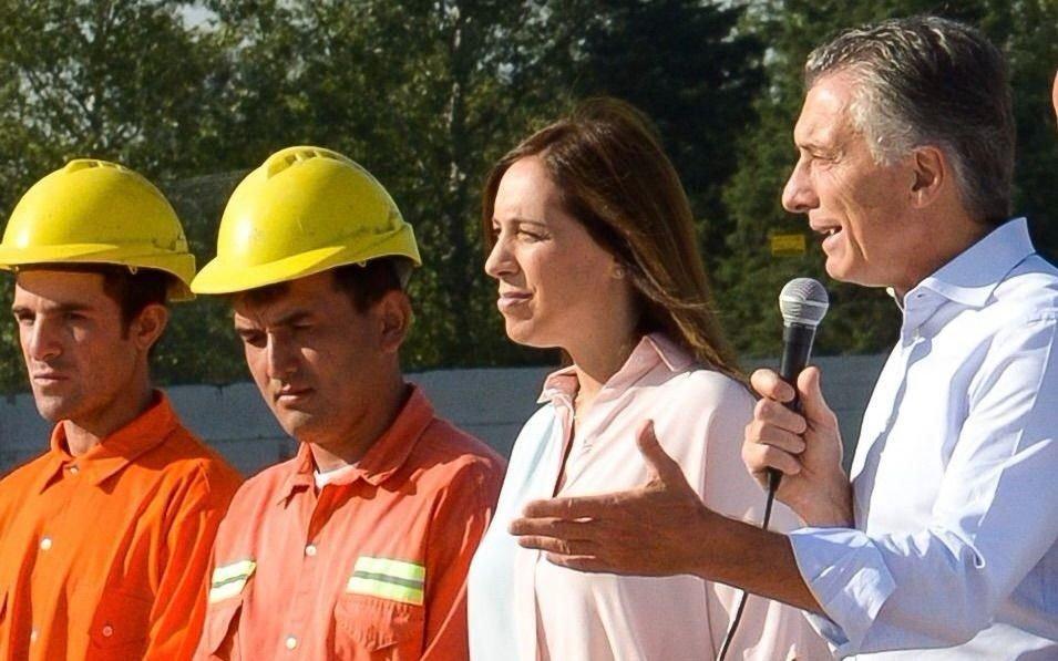 Macri y Vidal inauguraron obras en tierra peronista