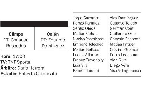 Colón goleó a Olimpo y lo hundió en el descenso