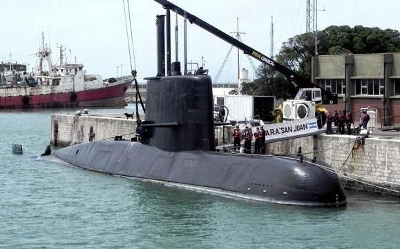 Revelan último mensaje enviado desde submarino argentino desaparecido