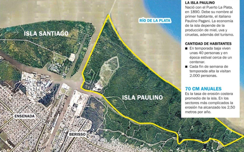La Isla Paulino pierde terreno ante la erosión y buscan aliviar el ...