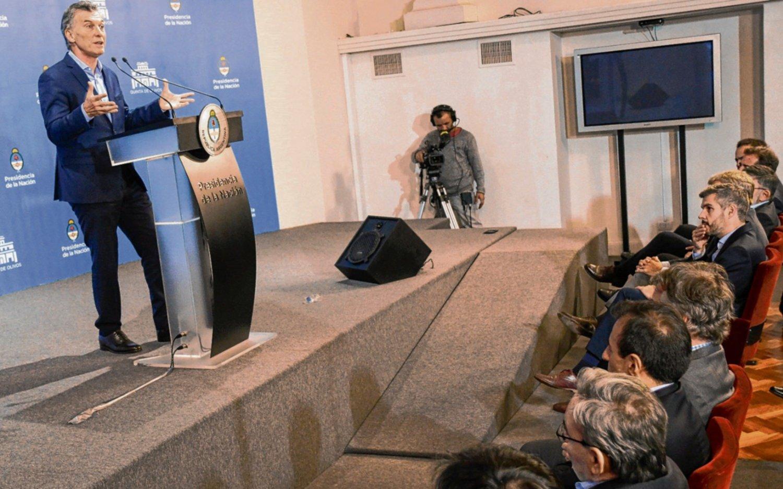 """Macri reconoció que fue """"muy optimista"""" al fijar las metas"""