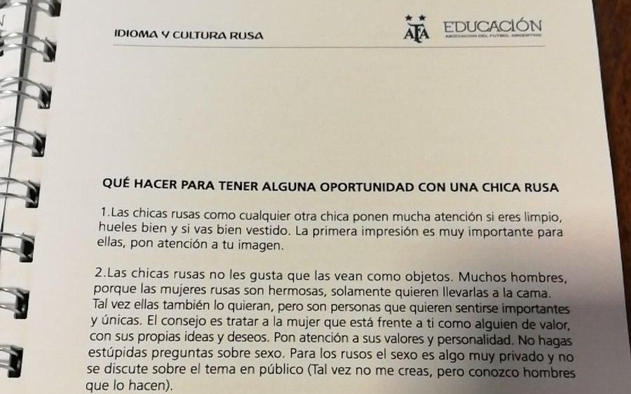 """Manual machista de AFA: Tapia le mostró la """"roja"""" al responsable del affaire"""