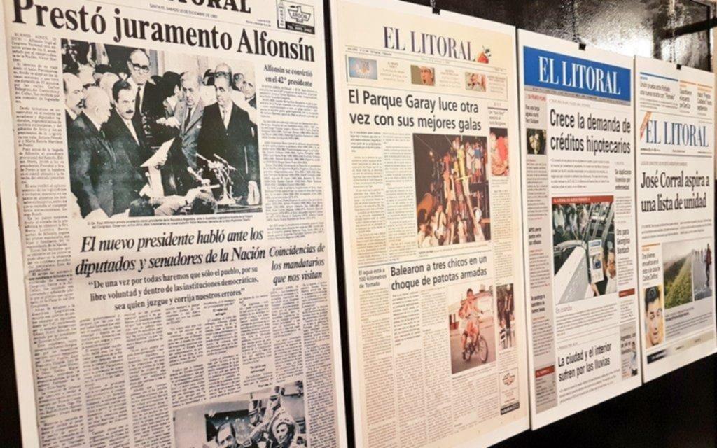 Festejo centenario del diario El Litoral