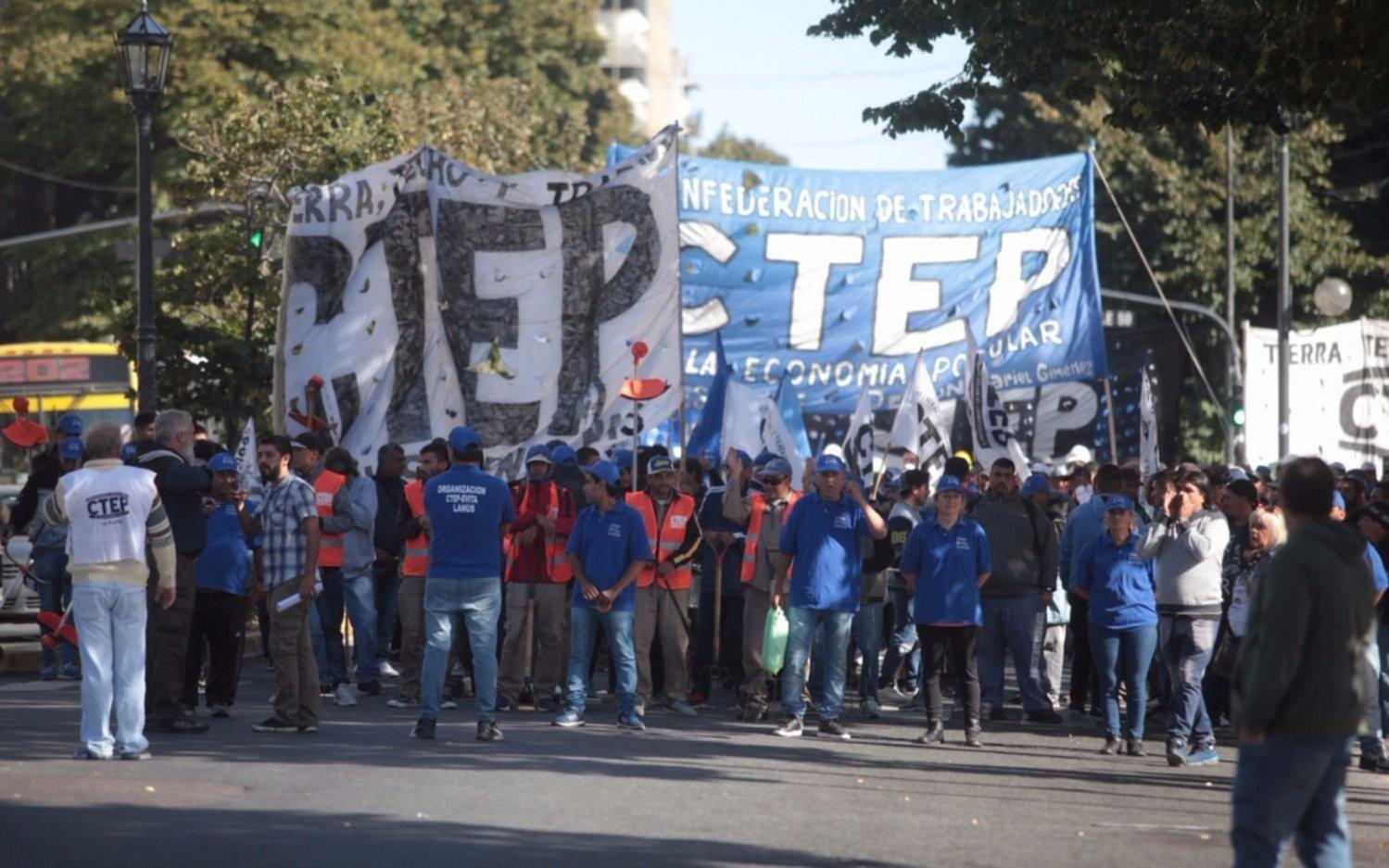 Los piqueteros vuelven a movilizarse el miércoles en el centro porteño