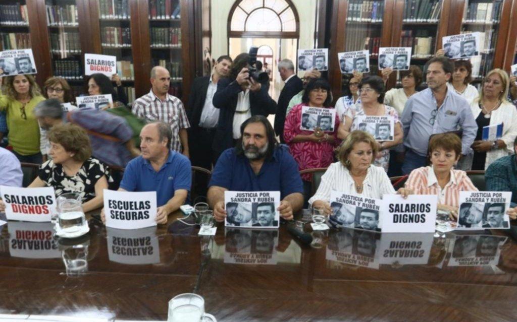 Suteba aceptó el acuerdo paritario y Vidal hará el anuncio