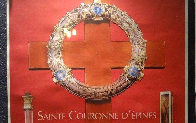 La corona de espinas de Jesús, entre sus tesoros