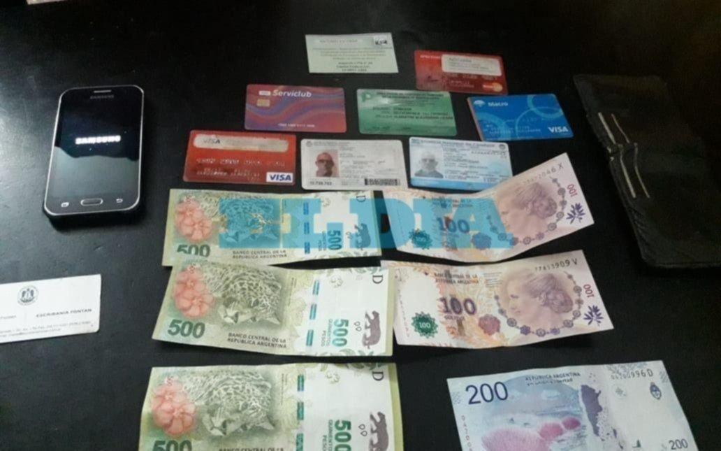 Un repartidor le robó a un colega y cayó en un mercado