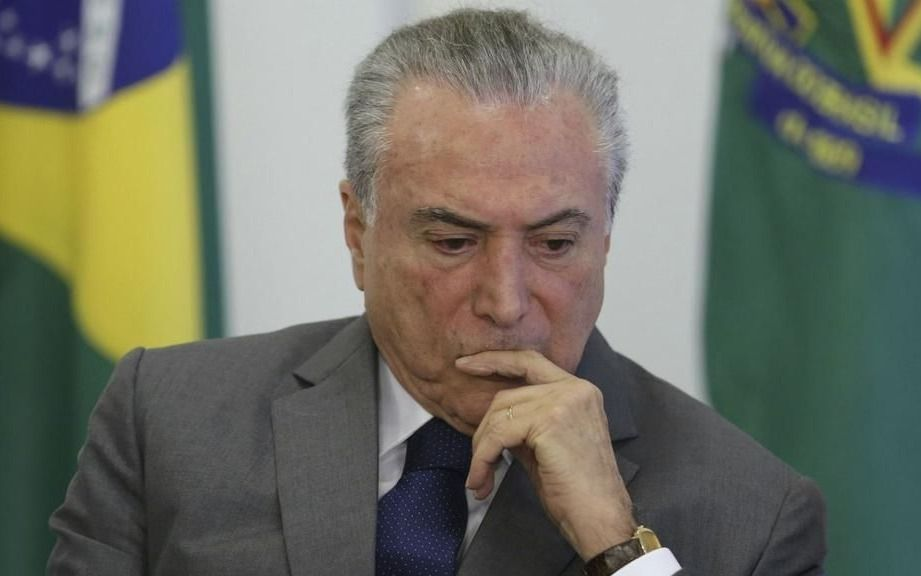 Ordenan dejar en libertad al ex presidente Temer en Brasil