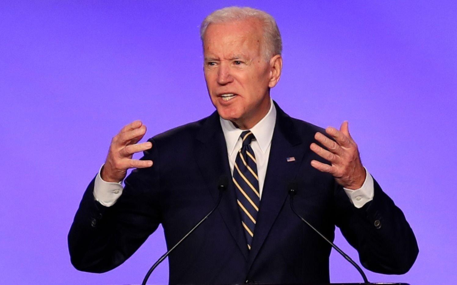 Joe Biden se pone en campaña llamando a la unidad