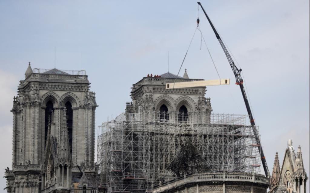 Tras el incendio, ya tiene fecha la primera misa en la Catedral de Notre Dame