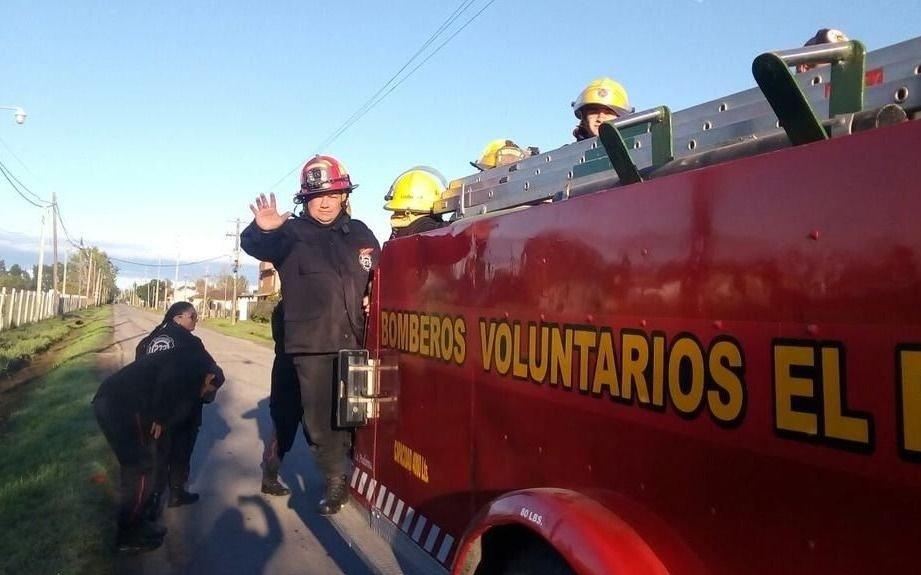 Días agitados para los bomberos de El Peligro